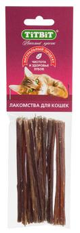 TiTBiT 35г Кишки говяжьи (для кошек) - мягкая упаковка