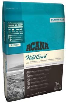 Acana 17кг Classic Wild Coast Dog Сухой корм для собак и щенков всех пород с рыбой и овсом