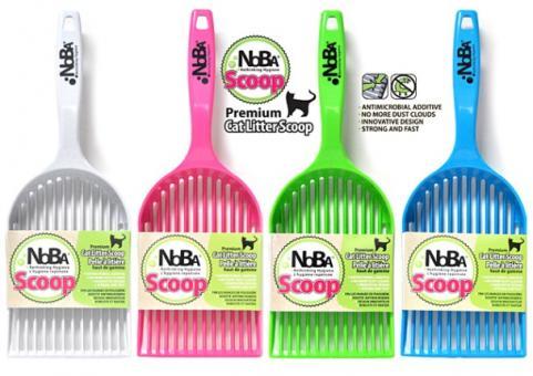 Canada Litter 100 Эко Совок Нано люкс (NOBA Scoop), серый