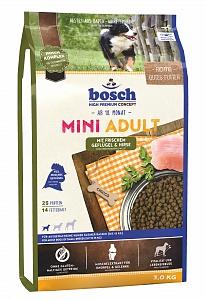 Bosch 1 кг Adult mini lamb rice Сухой корм для взрослых собак мелких пород ягненок рис
