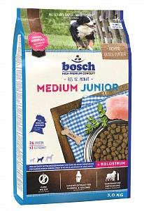 Bosch 1 кг Junior medium Сухой корм для щенков и подростков средних пород