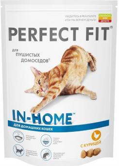 Perfect Fit 190 г. Сухой корм для Для домашних кошек с курой 7455/6839