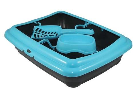 MP-Bergamo BIRBA 46*36*12см Туалет (+миска+совок) с рамкой