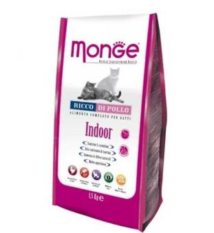 Monge Cat Indoor 10 кг. Сухой корм для домашних кошек