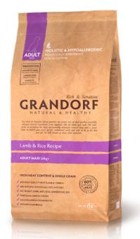 Grandorf Rich&Sensitive 12 кг Lamb&Rice Adult Maxi Беззерновой корм для собак крупных пород ягненок с рисом