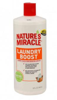 8in1 945мл средство для стирки NM Laundry Boost для уничтожения пятен, запахов и аллергенов
