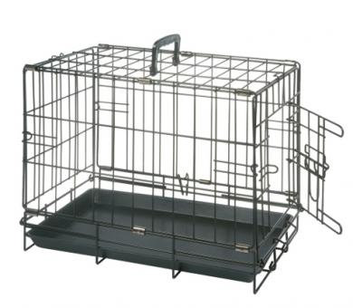 Karlie-Flamingo клетка  47*30*37 см для собак черная, с 1 дверью
