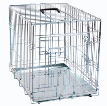 Karlie-Flamingo клетка 63*43*49 см для собак черная, 2 двери