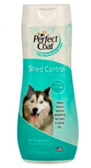 8 in 1 473мл Shed Control Shampoo for DOG Шампунь для собак, для укрепления шерсти