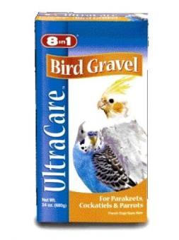 8in1 Гравий для заполнения зоба птиц (мелкий), 680г Platinum Bird Gravel