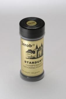 Jerob 100гр Star Dust Grooming Powder Medium Brown Оттеночная пудра, для шерсти животных - Коричневая