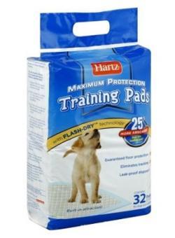 Hartz 56x56см 6шт Puppy Training Pads Впитывающие пеленки для щенков и собак
