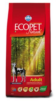 Farmina 12 кг Ecopet Natural Adult Maxi Для взрослых собак крупных пород с курицей