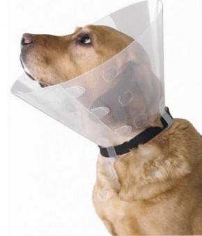 KRUUSE  воротник 15см защитный для собак