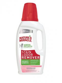 Nature's Miracle 946мл Dog Stain&Odor Rem Pour Lavender 32oz Универсальный уничтожитель пятен и запахов Лаванда для собак