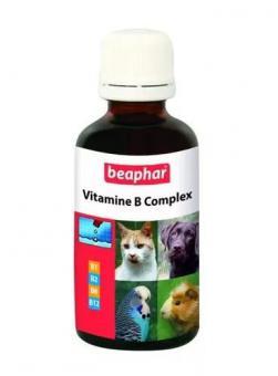 Beaphar Vitamine-B-Komplex 50мл Комплекс витаминов группы В, для кошек и собак