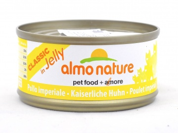 "Скидка 10% 6шт Almo Nature 70гр. консервы для кошек ""Курица"" в желе, Legend HFC Adult Cat Imperial Chicken"