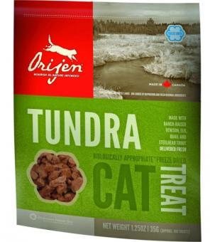 Orijen 35г Tundra Cat лакомства для кошек