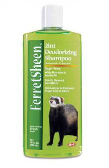 8in1 295мл Shampoo Ferretsheen Deodorizing шампунь для хорьков дезодорирующий