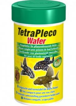 TetraPleco Wafer 100 мл - корм для сомиков-присосок (анциструсы, птеригоплихты, плекостомусы и т.п.)