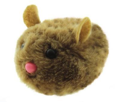 Dezzie Мышь Актив № 5 виброигрушка для кошек искусственный мех