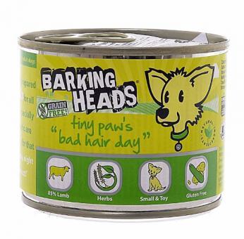 Barking Heads 200гр Консервы для Собак мелких пород с ягненком Роскошная шевелюра для мелколапого