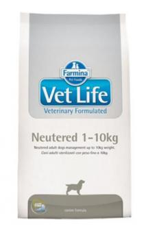 Farmina 10кг Neutered 1-10kg Диета для стерилизованных и кастрированных собак весом до 10кг