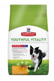 Hill's 10кг Youthful Vitality Сухой корм для пожилых собак 7+