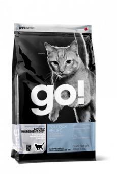 Go Natural 7,26кг Sensitivity Shine 31/15 беззерновой для котят и кошек с чувствительным пищеварением с минтаем