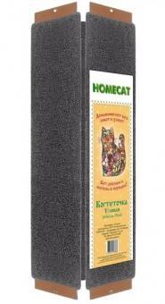 Homecat 25*2,5*65 см Когтеточка с кошачьей мятой угловая