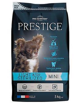 Flatazor 8 кг Prestige adult mini sterilized Сухой корм для взрослых стерилизованных собак мелких пород