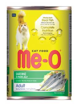 МЕ-О корм консервированный для кошек 400г, со вкусом тунца