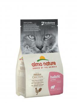 Almo Nature 2кг для котят с курицей и коричневым рисом