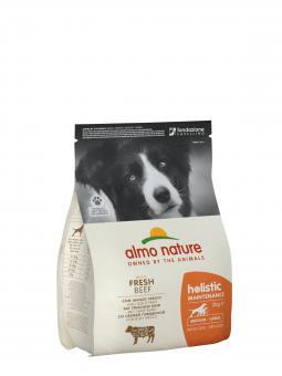 Almo nature 2кг Holistic Medium Beef and Rice Для Взрослых собак Средних пород с Говядиной