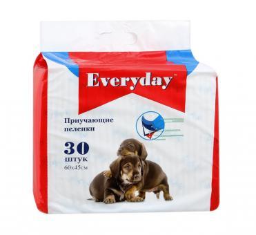 Everyday 60x60см 10шт Гелевые пеленки для животных