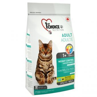 1st Choice 0,35 кг Light - Healthy Weight для кошек контроль веса цыпленок
