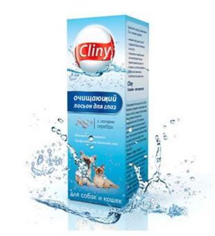 Экопром Cliny К105 50мл Лосьон очищающий для глаз