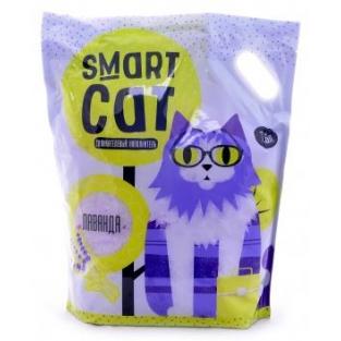Smart Cat 7,6л Силикагелевый наполнитель с ароматом лаванды