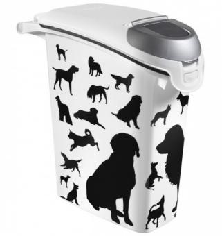 Curver pet life контейнер 10 кг/23л, 23*50*50см для собак 210341