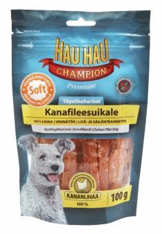 HAU-HAU Chicken fillet 100 Лакомство для собак куриное филе