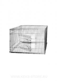 Клетка для собак 400*820*420 с металическим поддоном