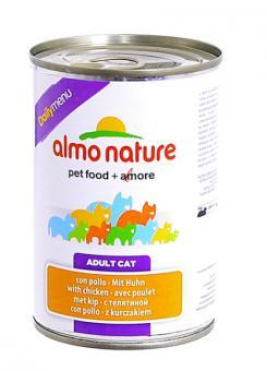 Almo Nature 400гDaily Menu Veal Консервы для кошек Меню с Телятиной