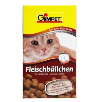 Gimpet 100г Мясные шарики для очистки зубов для кошек