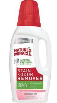 Nature's Miracle  473мл Универсальный уничтожитель пятен и запахов для собак,NM Dog Stain Odor Remover Pour
