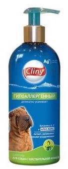 Cliny 300мл Гипоаллергенный шампунь для собак