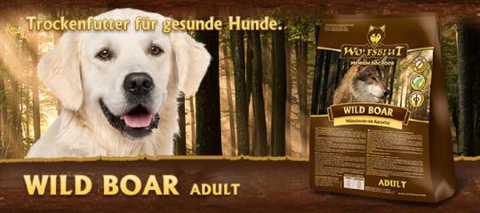 Wolfsblut 15 кг Wild Boar Сухой корм для собак Дикий Кабан