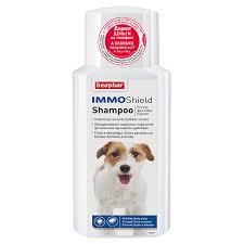Beaphar Шампунь IMMO Shield Shampoo от паразитов для собак, 200 мл