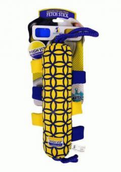 """PRODEN игрушка для собак High-Viz """"Аппортировка с теннисным мячом"""" текстиль для игр на воде 30 см"""