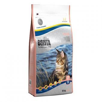 Bozita Feline Large 10кг для взрослых и молодых кошек крупных пород.