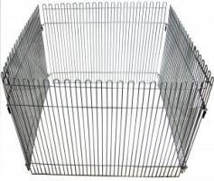 1 секция с дверью высокая 600*800мм для Вольера для собак средних пород, цена за 1 секцию